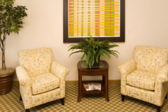 Image of lounge space at Guest house on the Mount.