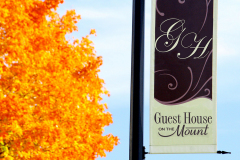 Guest house on the Mount Sign
