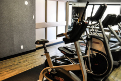 Image of the Fitness room at RCC-Kitchener-Waterloo.