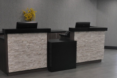 Image of the Front desk at RCC-Kitchener-Waterloo.