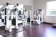 Image of the fitness room at RCC-Oakville.