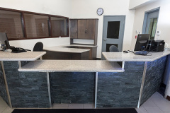 Image of the Front Desk at RCC-Oshawa.