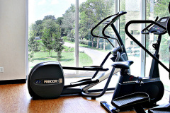 Image of the fitness room at RCC-Ottawa Downtown.