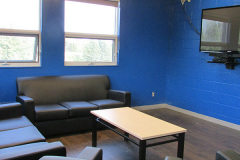 Image of a lounge space at RCC-Thunder Bay.