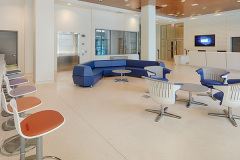 Image of the front desk and lobby area at RCC-Toronto Downtown.