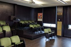 Image of the movie lounge at RCC-Windsor