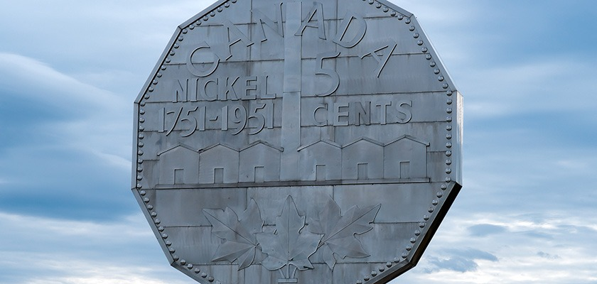 Sudbury Attraction - The Big Nickle