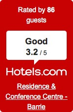 Hotels.com 3.2/5 Rating Barrie - Guest Reviews Barrie - Guest Reviews reviews hotels barrie